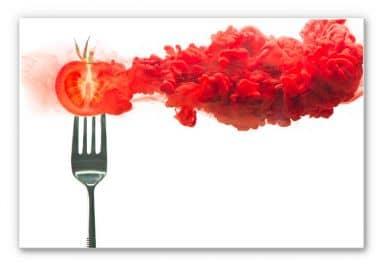 Wandbild Belenko - Steamed Tomato