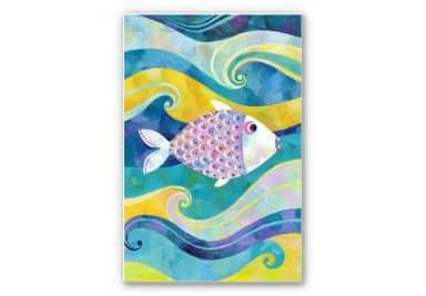 Wandbild Blanz - Der kleine Fisch