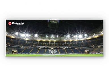 Wandbild Eintracht Frankfurt Nacht - Panorama