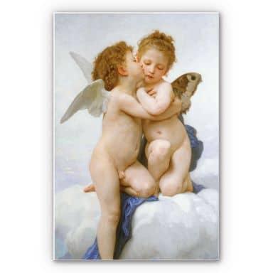 Wandbild Bouguereau - Der erste Kuss