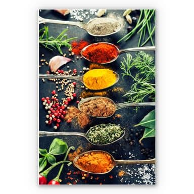 Tableau Forex - Herbes aromatiques variées 01