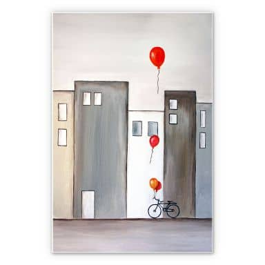 Forex print Melz - The balloon Seller