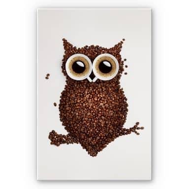 Wanddecoratie Koffie-uiltje