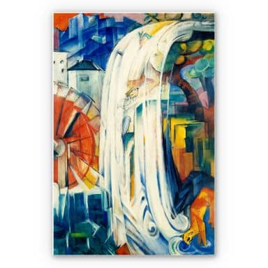 Wandbild Marc - Die verzauberte Mühle