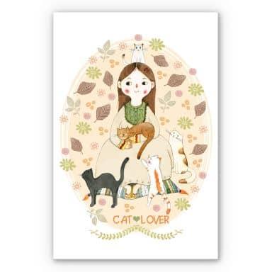 Wandbild Loske - Cat Lover