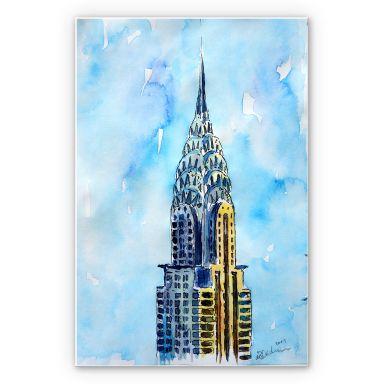 Wandbild Bleichner - Chrysler Building in NYC
