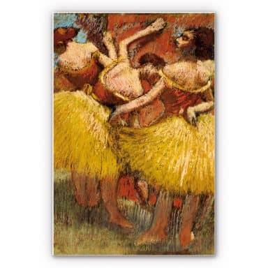Wandbild Degas - Drei Tänzerinnen