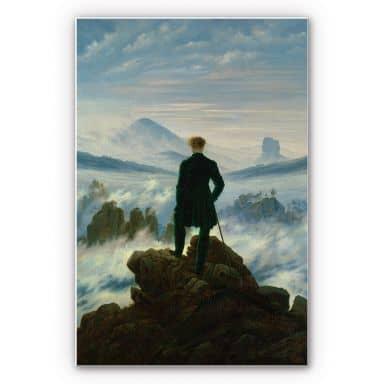 Wandbild Friedrich - Der Wanderer über dem Nebelmeer