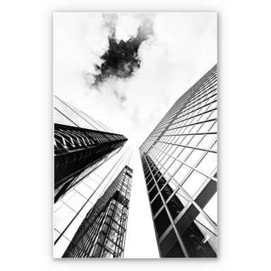 Wandbild Frankfurter Skyscraper