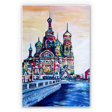 Wandbild Bleichner - St. Petersburg