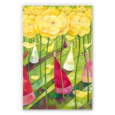 Wandbild Blanz - Blumenwiese