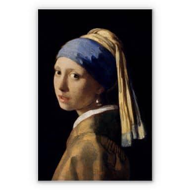 Wandbild Vermeer - Das Mädchen mit dem Perlenohrgehänge