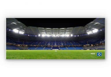 Wandbild HSV Arena Nacht - Panorama