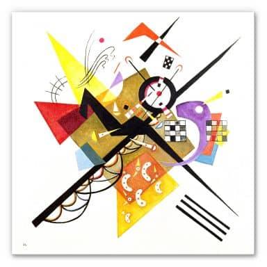 Wandbild Kandinsky - Auf Weiss II