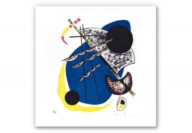 Wandbild Kandinsky - Kleine Welten 2