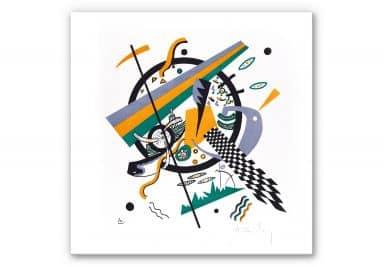 Wandbild Kandinsky - Kleine Welten 4