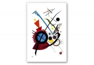 Wandbild Kandinsky - Violett