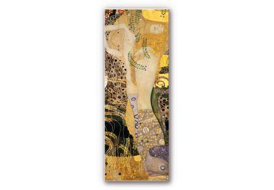 Wandbild Klimt - Wasserschlangen I.
