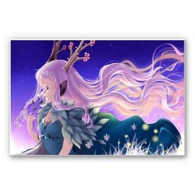 Wandbild La Doll Blanche - Lumi