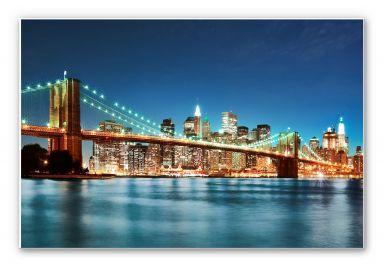 Wandbild - Lights in New York City 02