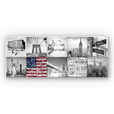Wandbild Impressions of New York City