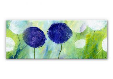 Wandbild Niksic - Allium Purpur - Panorama