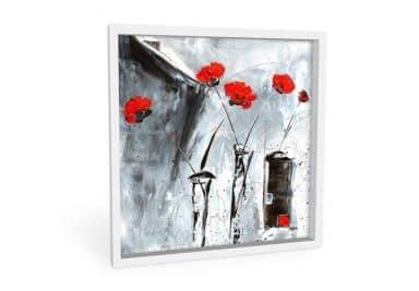 Wandbild Niksic - Roter Mohn 2