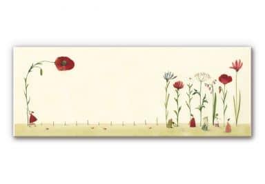 Wandbild Leffler - Blumensamen - Panorama