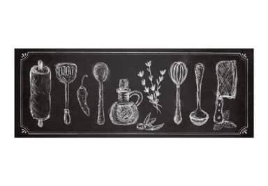 Wandbild Rustic Kitchen - Panorama