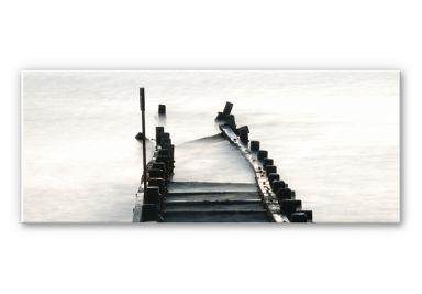 Wandbild Way to nowhere - Panorama