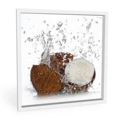 Wandbild Caribbean Coconut