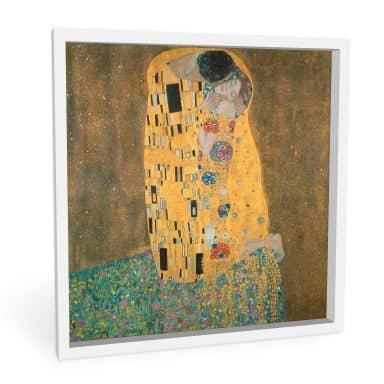 Wandbild Klimt - Der Kuss