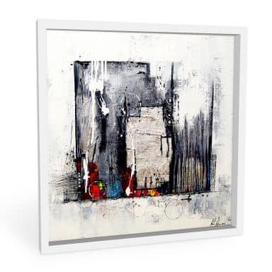 Wandbild Fedrau - Abstrakt