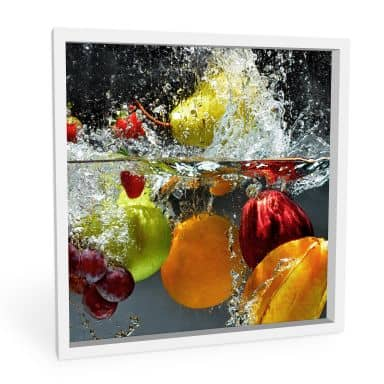 Forex print Refreshing fruit - square