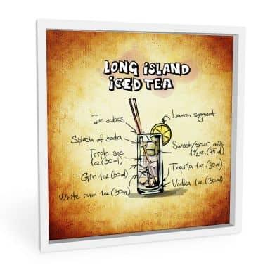 Wandbild Long Island Iced Tea - Rezept