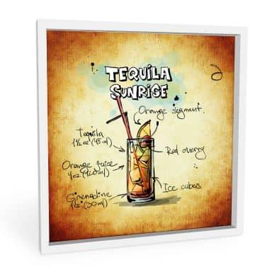 Wandbild Tequila Sunrise - Rezept
