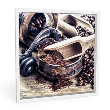 Wandbild Kaffeeduft - quadratisch