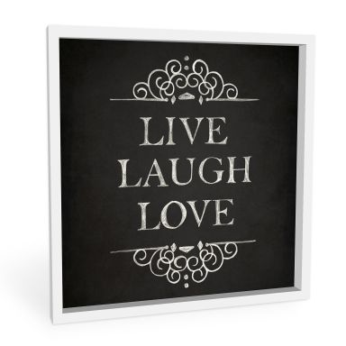 Wanddecoratie Forex Live Laugh Love