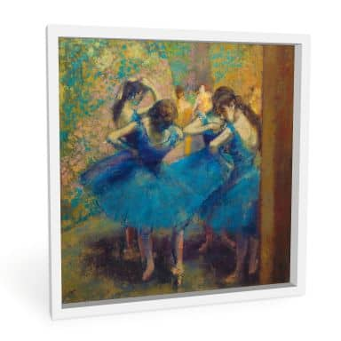 Wandbild Degas - Die blauen Tänzerinnen