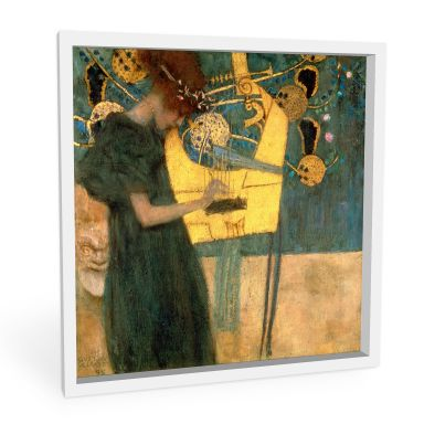Wandbild Klimt - Die Musik