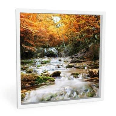 Forex print Autumn Waterfall