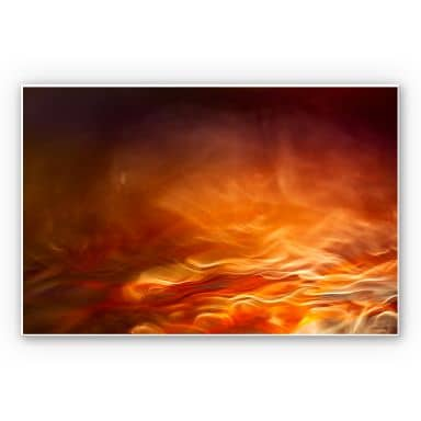 Wandbild Marthinussen - Burning Water