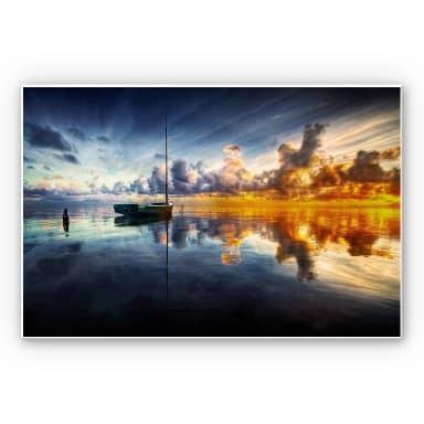 Wandbild Yugawa - Time for reflection