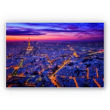 Wandbild Miguel - Paris bei Nacht