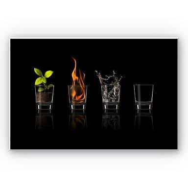 Wandbild Frutos Vargas - The Four Elements