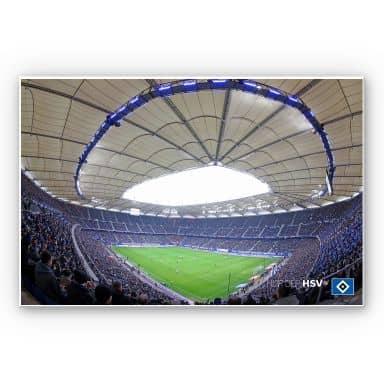 Wandbild HSV Arena