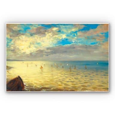 Forex print Delacroix - The Sea