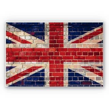 Forex print Union Jack Wall