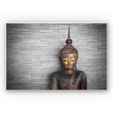 Wandbild Thailand Buddha