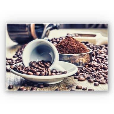 Wandbild Kaffeeträume